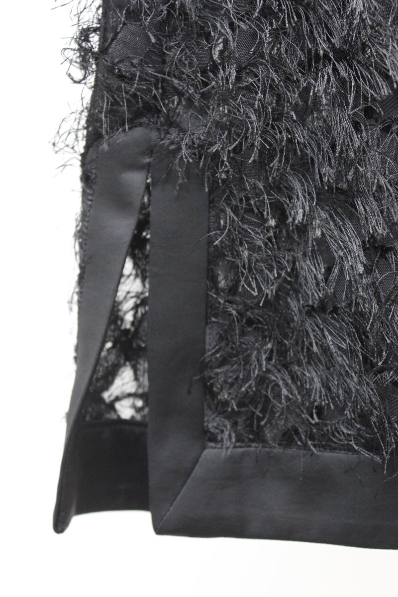 08 SIRCUS フリンジ半袖ブラウス [20AW]