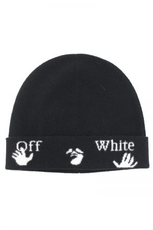 OFF-WHITE 【20%OFF】ロゴニットキャップ [20AW]
