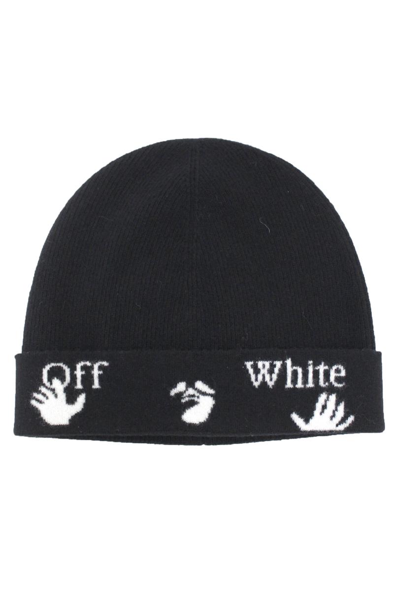 OFF-WHITE ロゴニットキャップ