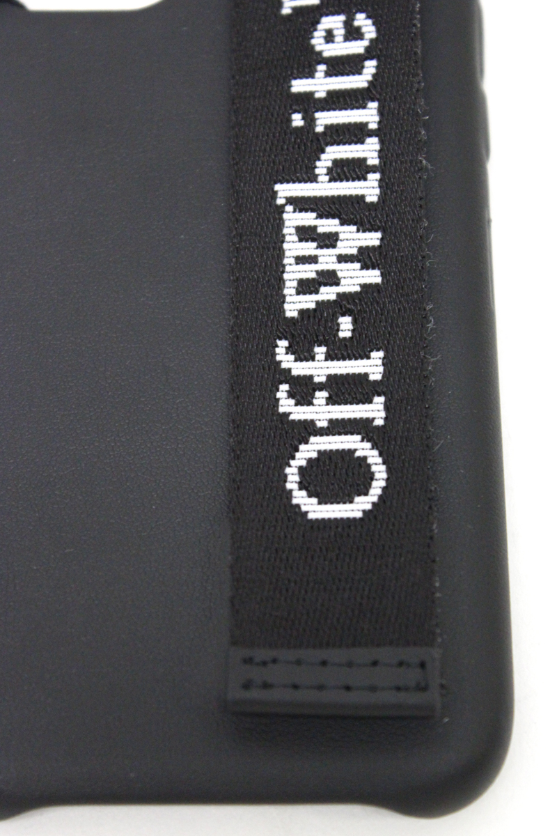 OFF-WHITE INDUSTRIAL LOGO iPhoneケース  [20AW]