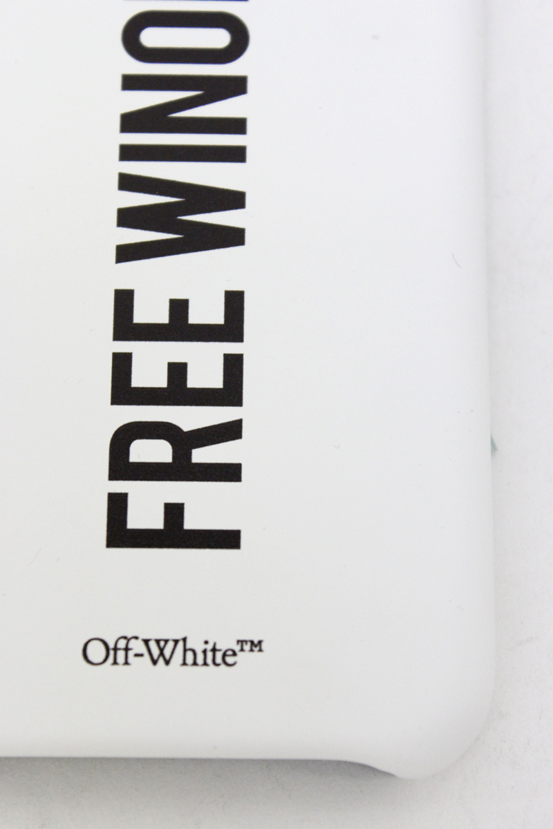 OFF-WHITE SENTENCES iPhoneケース  [20AW]