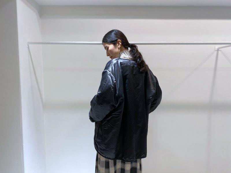 STAND ALONE ボタンレスジャケット【20AW】