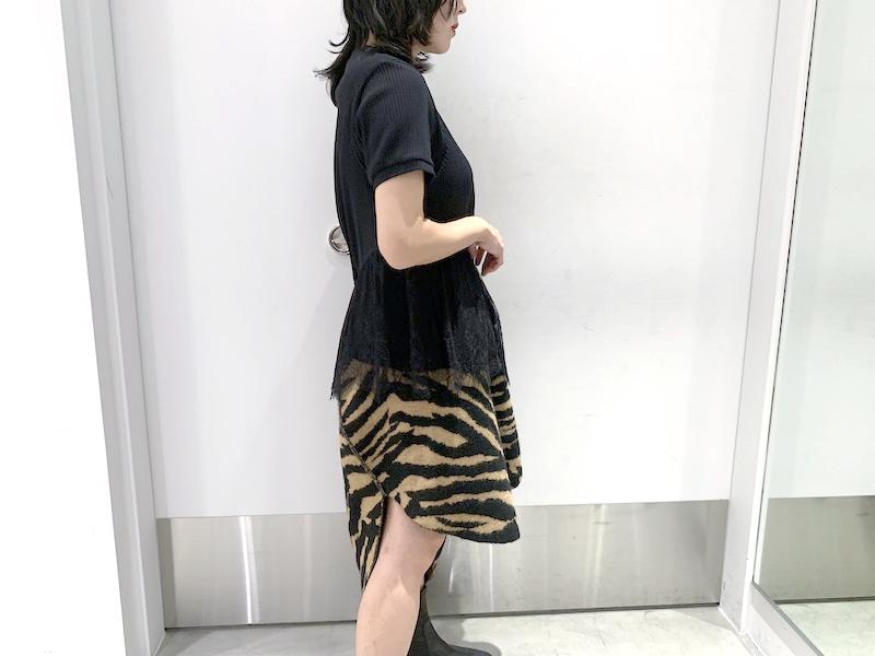 REKISAMI 【30%OFF】レース付ワンショル&半袖セットカットソー