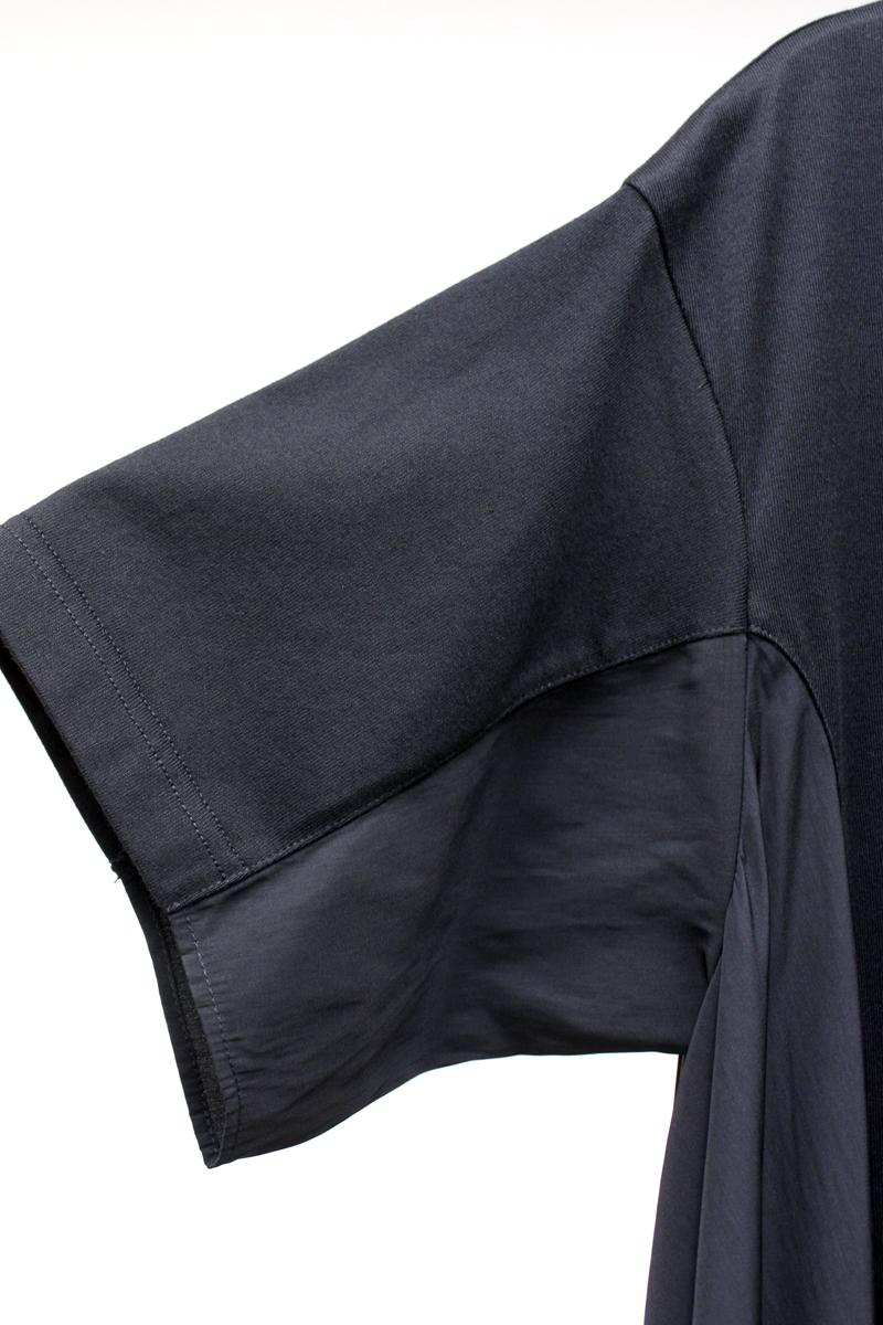 REKISAMI 【BLACK FRIDAY】半袖切換ワンピース [20AW]