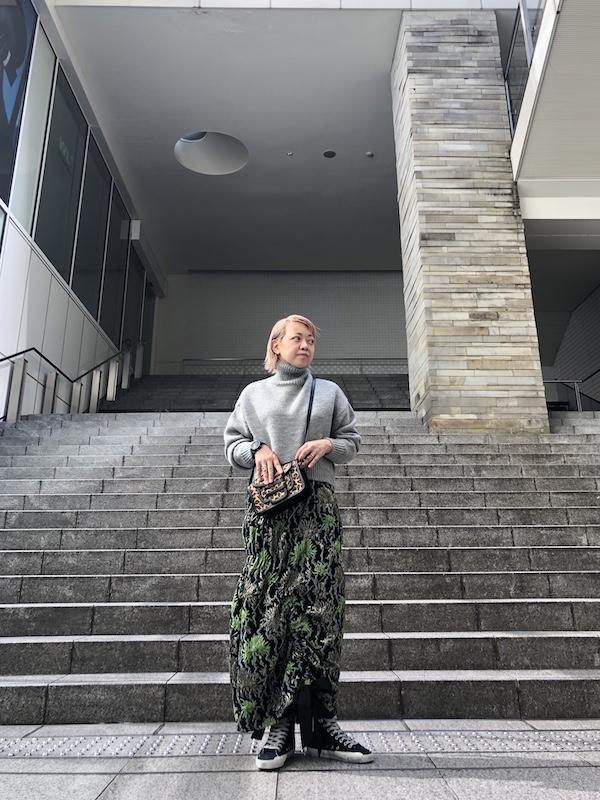 STAND ALONE 【40%OFF】タートルネックニット