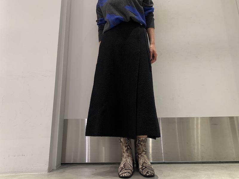 08 SIRCUS 【50%OFF】ウールラップスカート