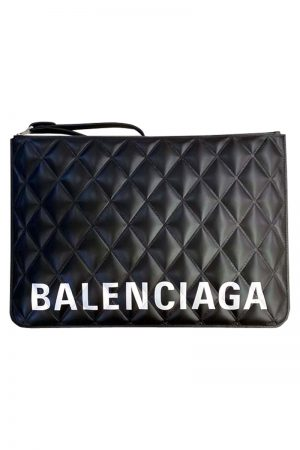 BALENCIAGA キルティングクラッチバッグ  [20AW]
