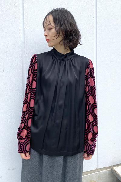 DRIES VAN NOTEN COXE VELVETシャツ【20AW】