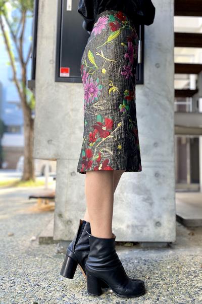 DRIES VAN NOTEN 【40%OFF】花柄刺繍スカート