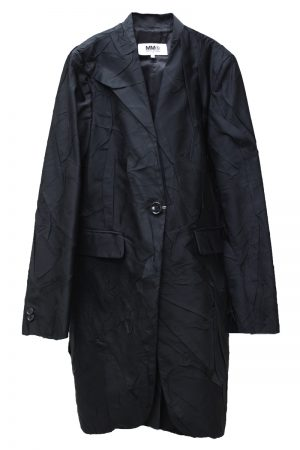 MM6 MAISON MARGIELA 【40%OFF】シワ加工シングルコート
