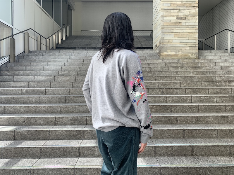 QUEENE and BELLE ペイントニット【20AW】