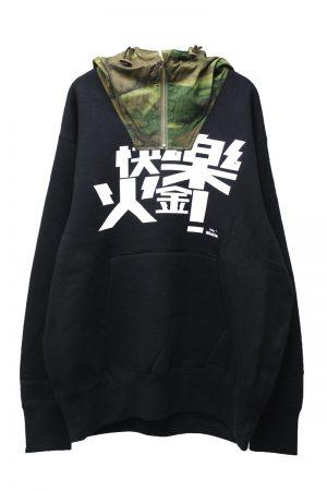 Kolor BEACON フード切替スウェットトップス【20AW】