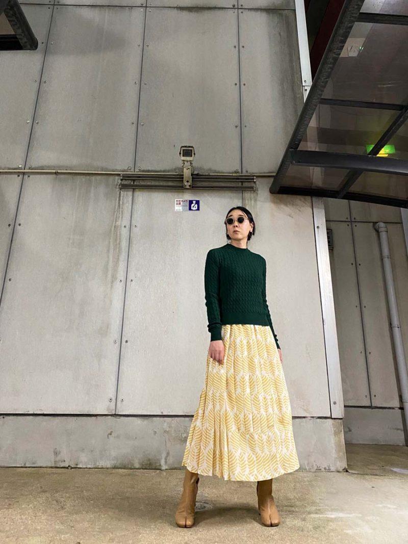 SARA LANZI 【40%OFF】ケーブル編みニット【20AW】