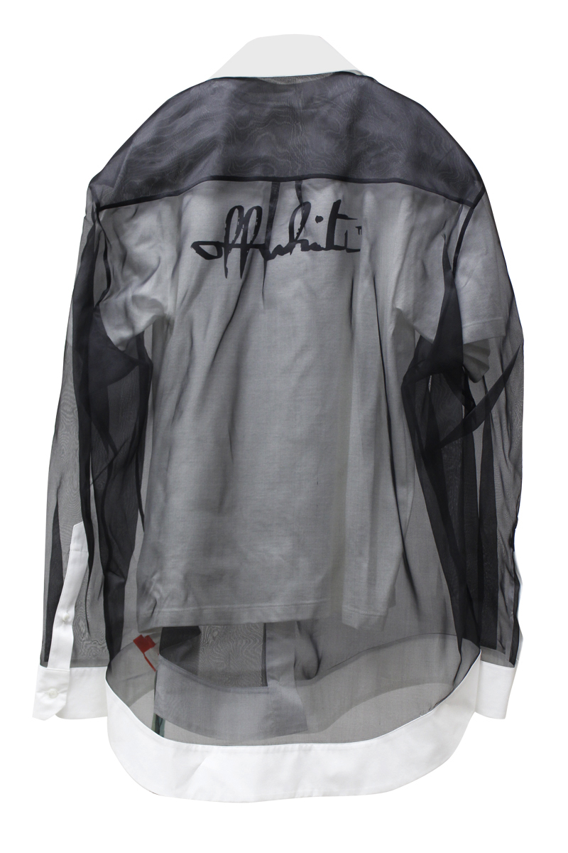 OFF-WHITE 【30%OFF】ダブルレイヤーシャツ【20AW】