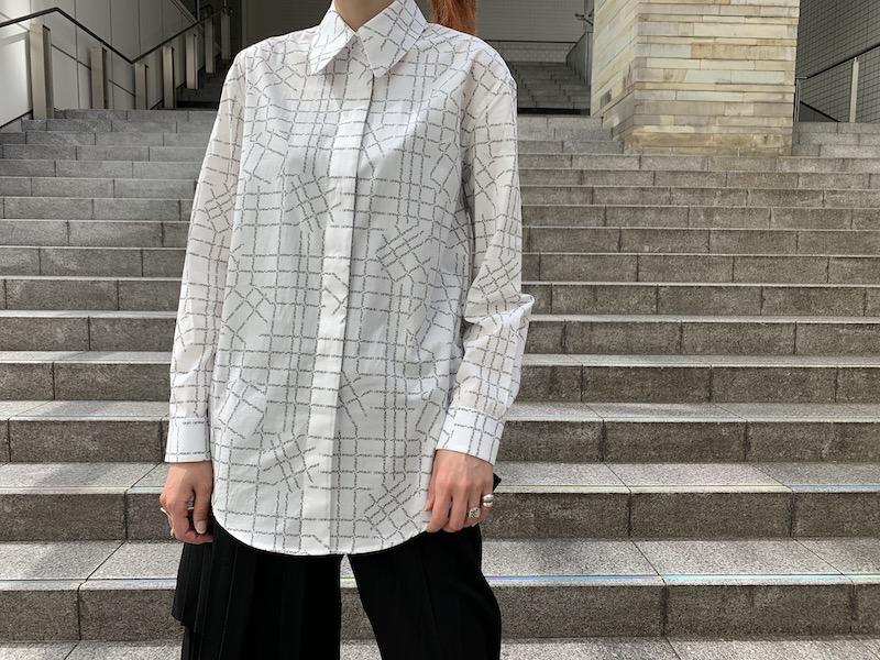 OFF-WHITE ロゴチェックシャツ