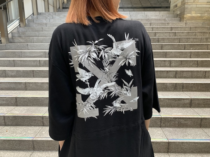 OFF-WHITE 【50%OFF】BIRDSスウェットワンピース
