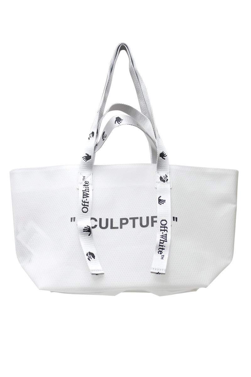 OFF-WHITE SMALL COMMERCIAL トートバッグ【20AW】