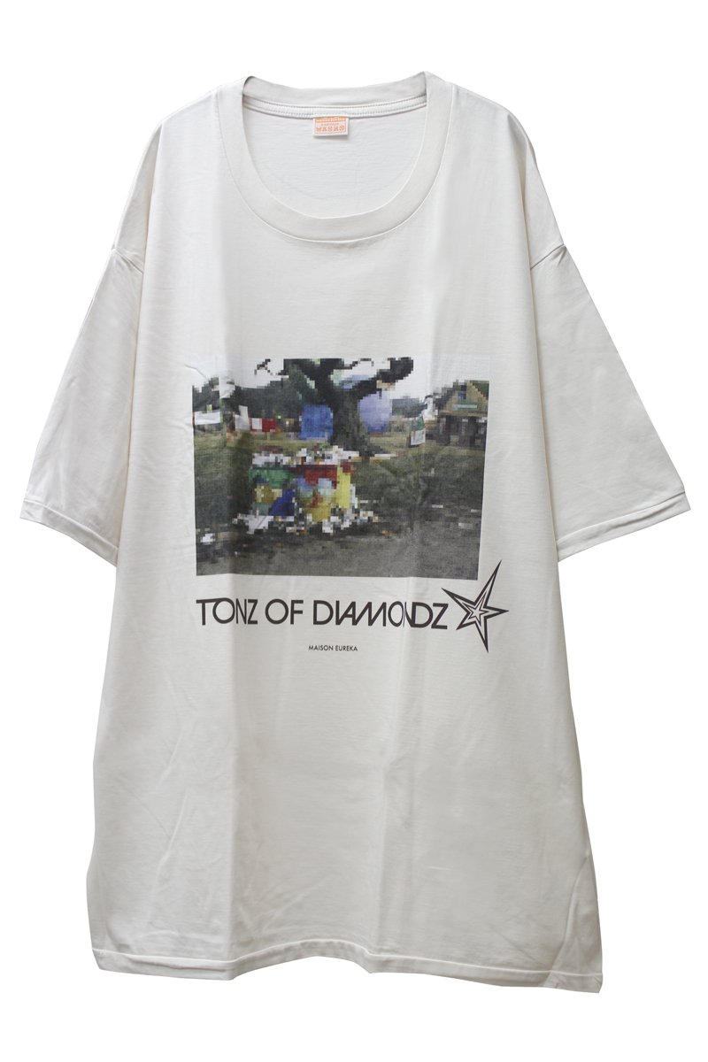 MAISON EUREKA TONZ OF DIAMONDZ ショートスリーブTシャツ [20AW]