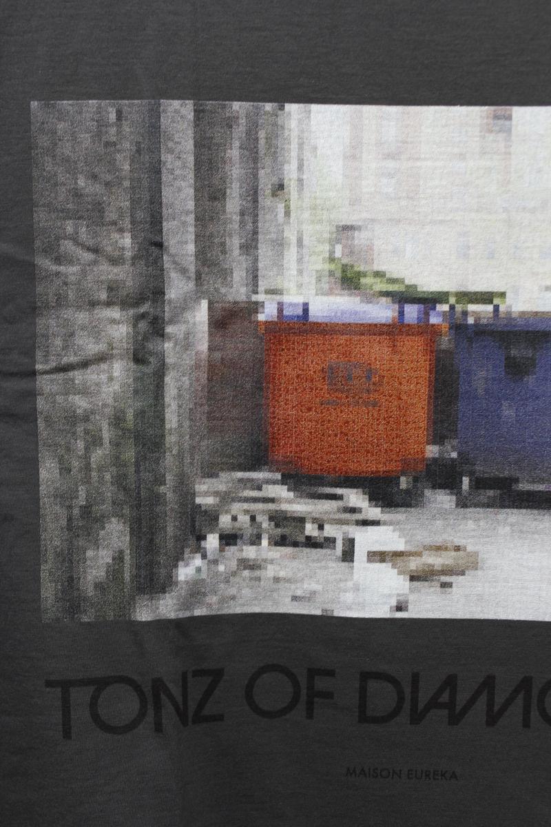 MAISON EUREKA TONZ OF DIAMONDZ ロングスリーブTシャツ [20AW]