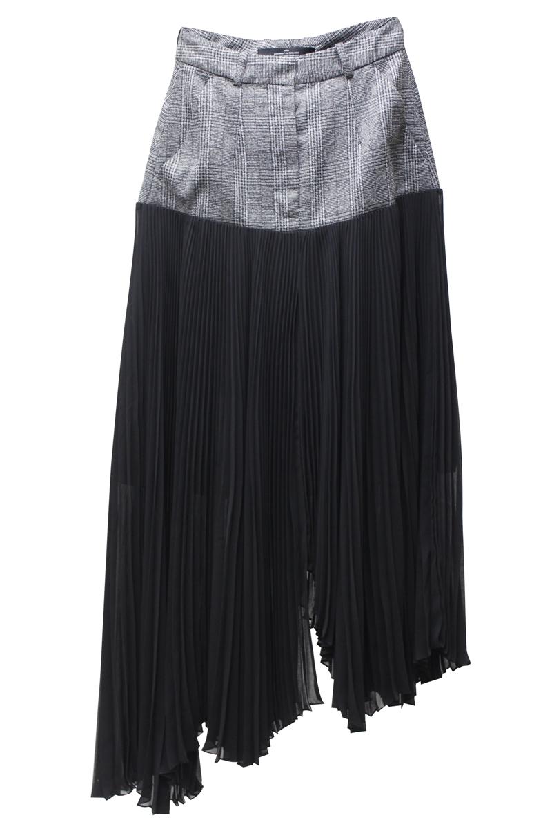rokh FALLEN PLEATスカート【20AW】