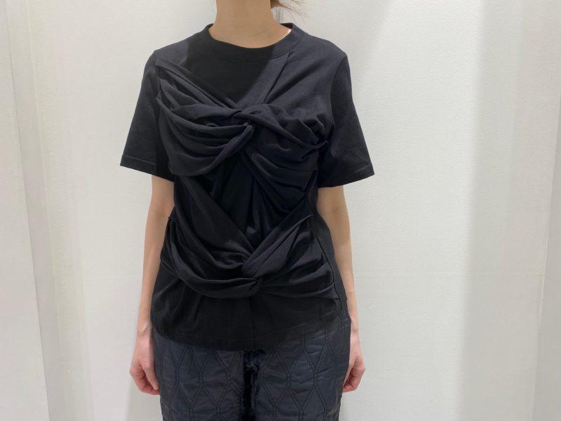 REKISAMI 【50%OFF】ねじりデザインTシャツ