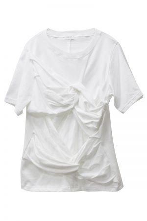 REKISAMI ねじりデザインTシャツ