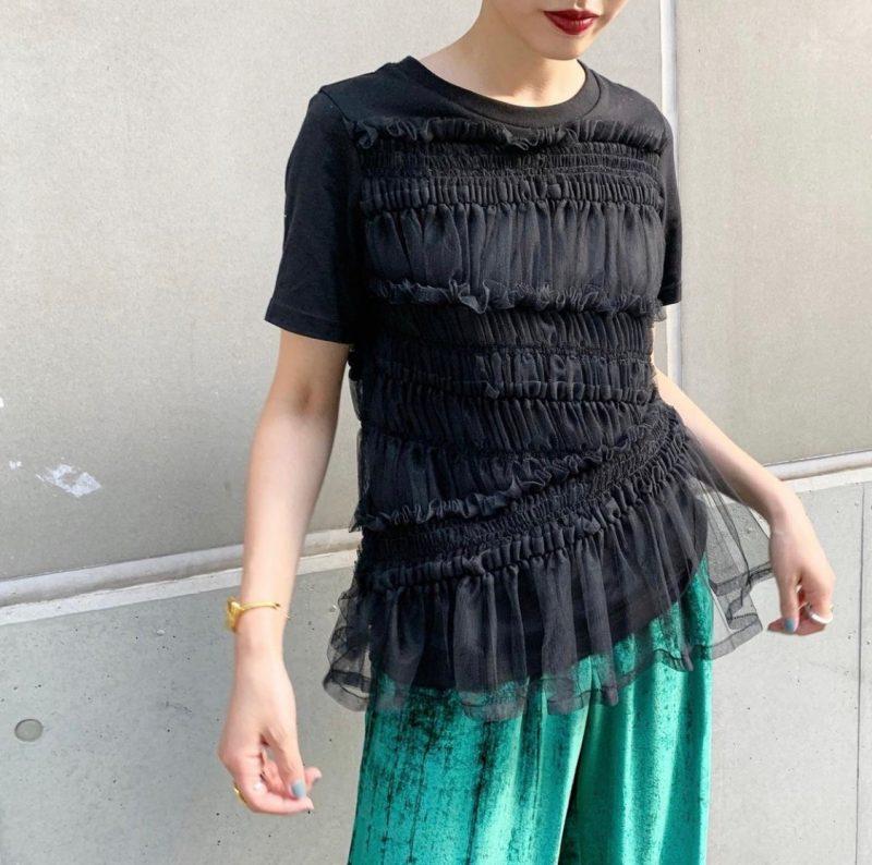 Chika Kisada 【30%OFF】フリルTシャツ