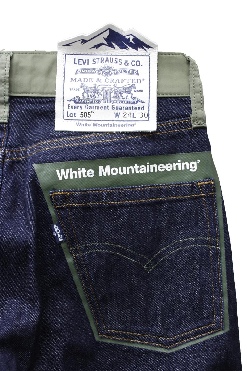 White Mountaineering ×LMCデニムパンツ【20AW】