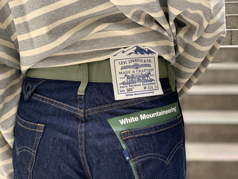White Mountaineering 【40%OFF】×LMCデニムパンツ
