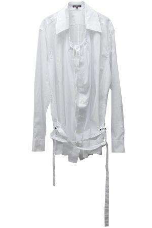 ANN DEMEULEMEESTER 【40%OFF】コットンフレアシャツ