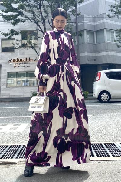 DRIES VAN NOTEN DEVIR LONGドレス【20AW】
