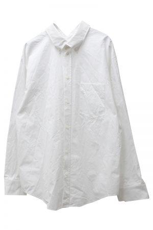 BALENCIAGA ダブルフロントシャツ【20AW】