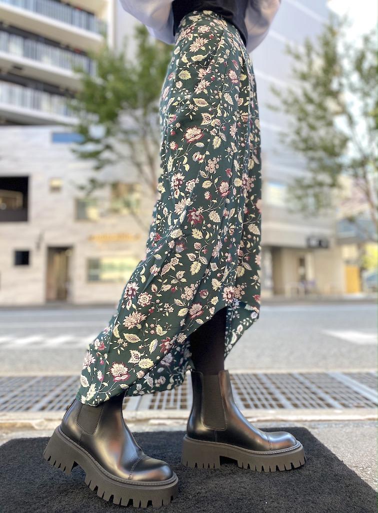 ISABEL MARANT .【40%OFF】総柄ロングスカート