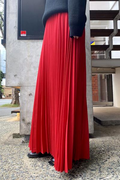 VETEMENTS 【50%OFF】LONG CUT PLISSEスカート