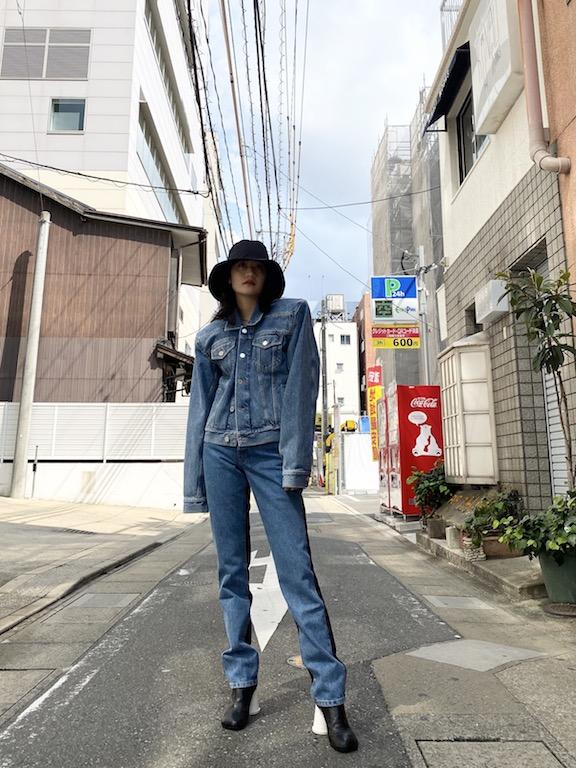 VETEMENTS 【40%OFF】切替デニムパンツ