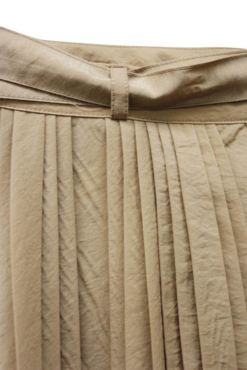SARA LANZI プリーツパレオスカート【20AW】