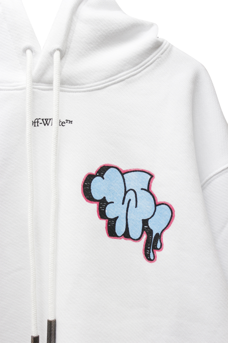 OFF-WHITE GRAFFITI REGフーディ【20AW】