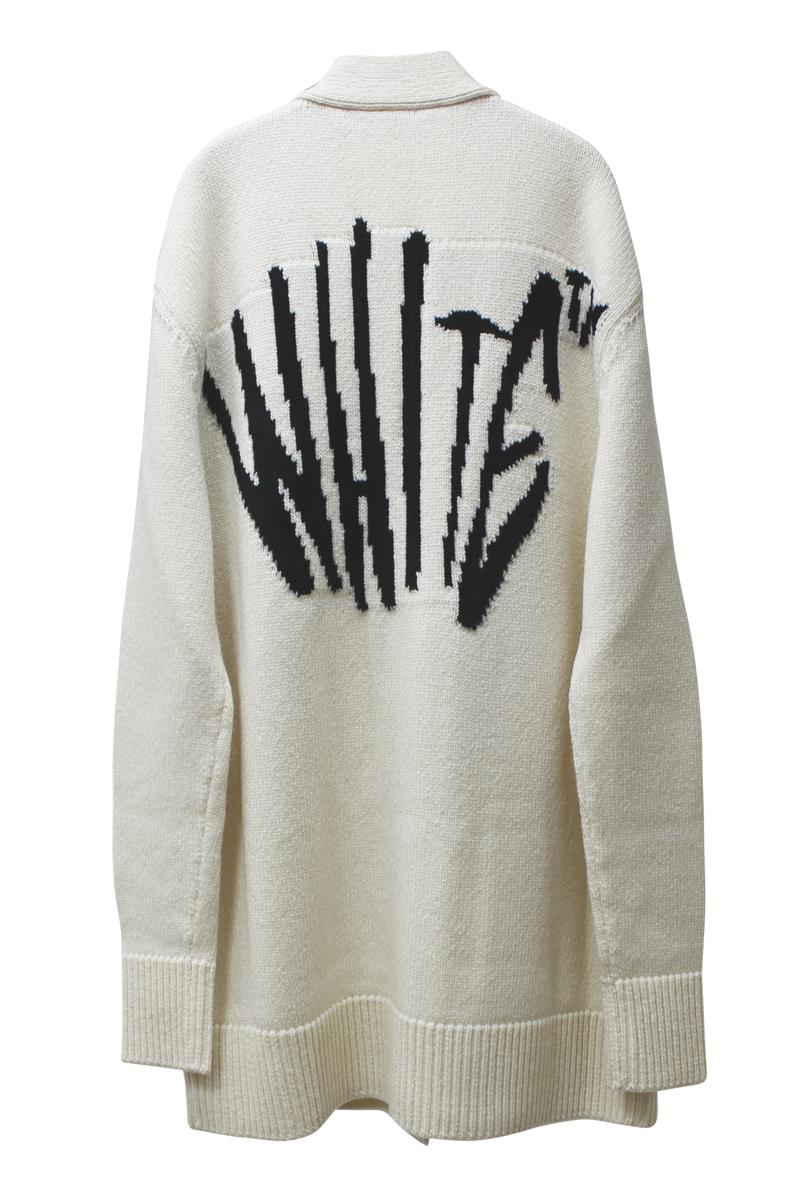 OFF-WHITE グラフィティカーディガン【20AW】
