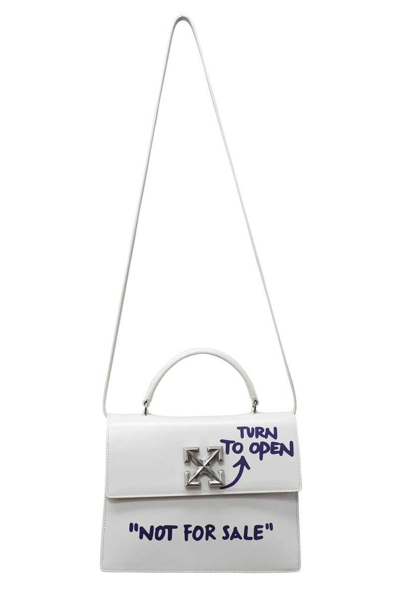OFF-WHITE QUOTE JITNEY 2.8OFFバッグ【20AW】