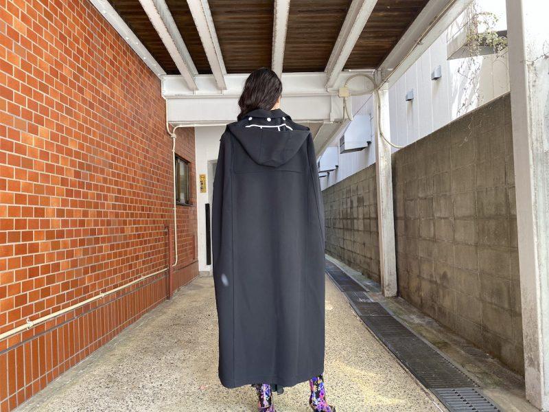 PLAN C ロングケープコート【20AW】