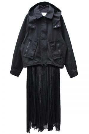 REKISAMI 【BLACK FRIDAY】プリーツスカート付ブルゾン【20AW】