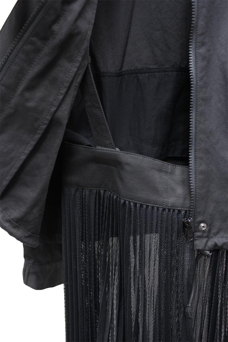 REKISAMI プリーツスカート付ブルゾン【20AW】