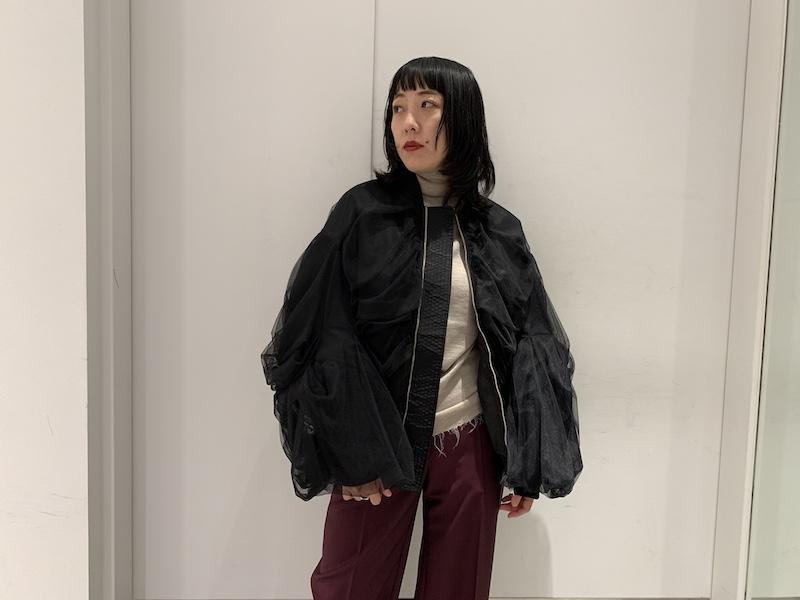 Chika Kisada チュールブルゾン【20AW】
