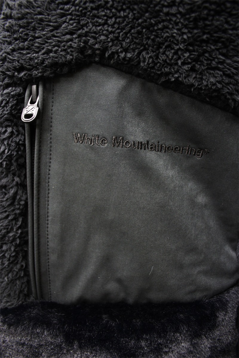 White Mountaineering ハイネックジップアップジャケット【20AW】