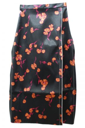 Meryll Rogge 花柄スリットスカート【20AW】