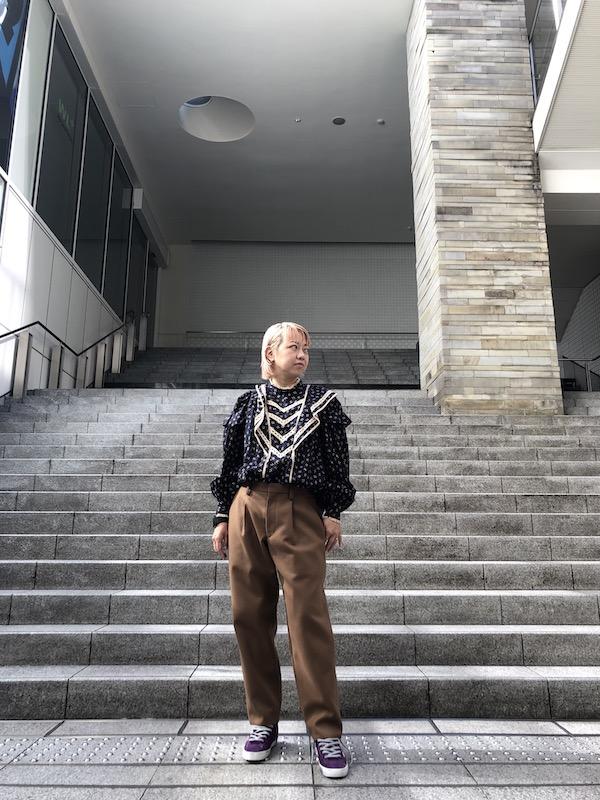 ISABEL MARANT ETOILE 【50%OFF】総柄フリルブラウス