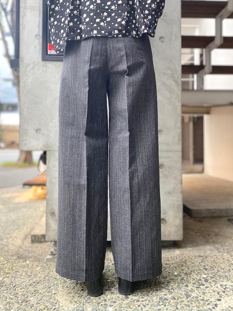 PLAN C 【40%OFF】ワイドパンツ