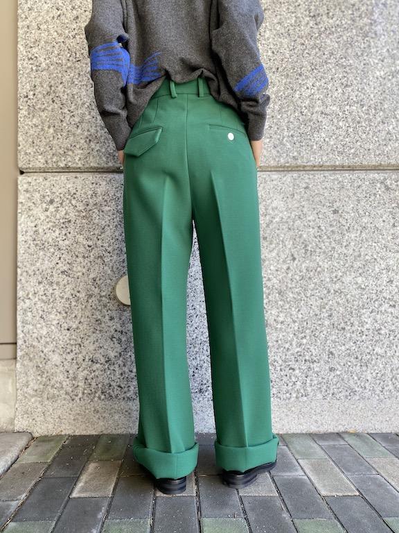 PLAN C 【40%OFF】タックワイドパンツ
