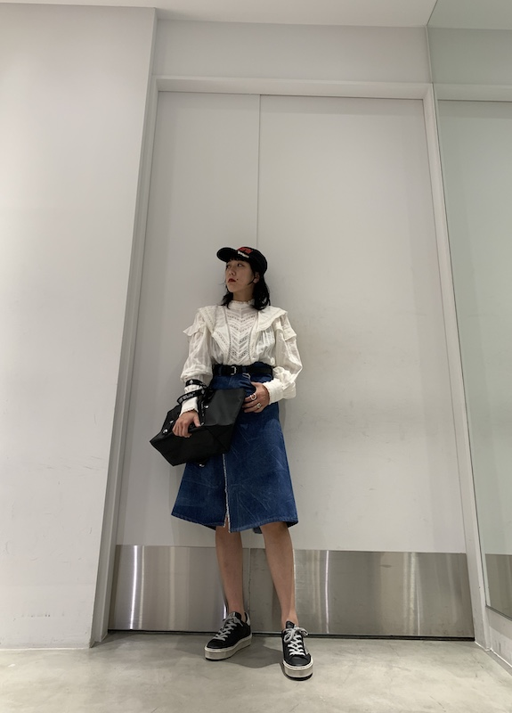 MM6 MAISON MARGIELA .【40%OFF】デニムスカート