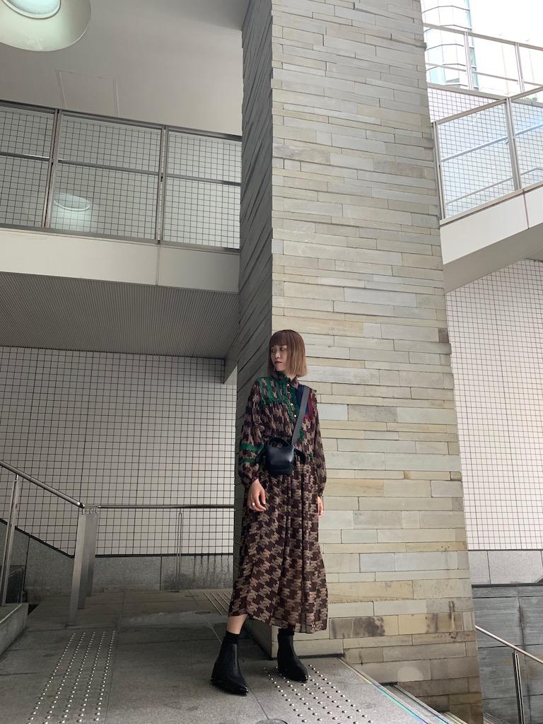 kolor 【50%OFF】総柄ロングワンピース